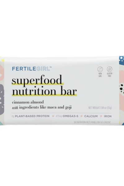 FertileGirl Superfood Nutrition Bar