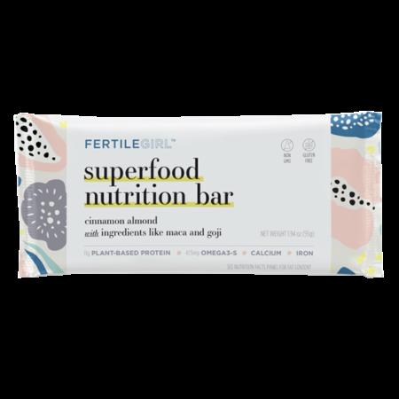 FertileGirl Superfood Nutrition Bar
