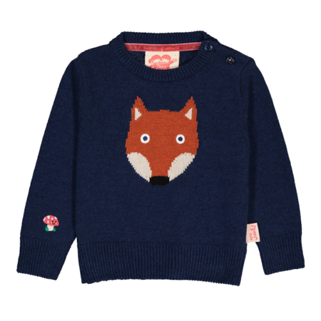 Tootsa MacGinty Fox Jacquard Knit