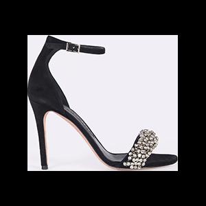 Rowena Rhinestone Stiletto Sandal