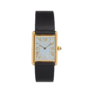 Cartier 1980s Large Tank Watch
