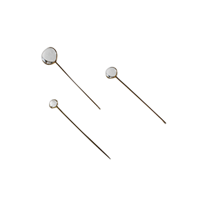 Halo Stickpins, Handcrafted to Order