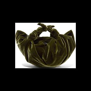 The Ascot Small Velvet Bag