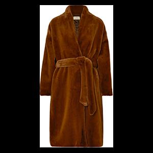 Chelsea Belted Faux Fur Coat