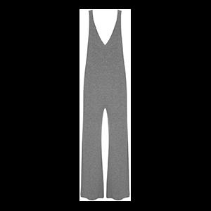 Prospero Cashmere V-Neck Jumpsuit