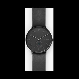 Aaren Reversible Leather Watch