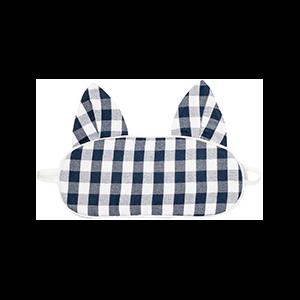 Gingham Kitty Eyemask