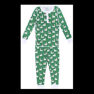 Fa-la-la-la Llamas Pajama Set
