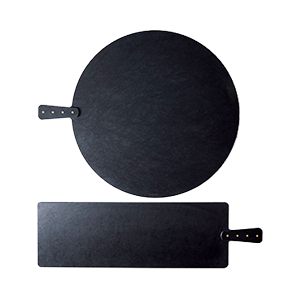 XL Matte Black Natural Fiber Cutting Boards