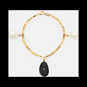 Forte & Pearl Charm Bracelet