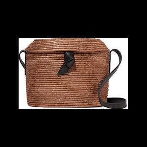 Crossbody Woven Sisal Shoulder Bag