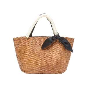 M'O Exclusive Small Woven Tote