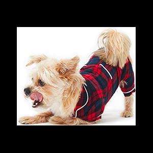 Cozy Flannel Dog Pajamas