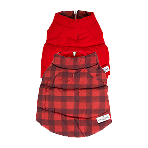 Buffalo Plaid Reversible Puffer Vest