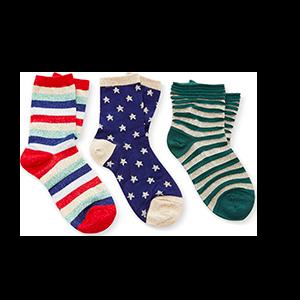 M'O Exclusive Set of Three Socks