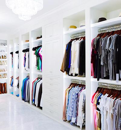 Streamline your wardrobe