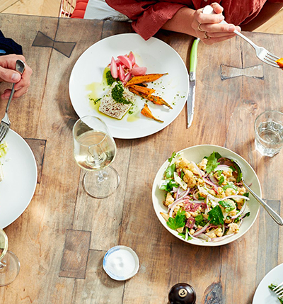 Private Chef, The Culinistas, $50 off private chef services with code HELM50