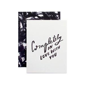 Completely In Love With You Card