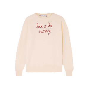Love Is The Message Sweater