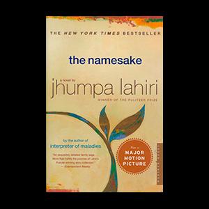 The Namesake book by Jhumpa Lahiri