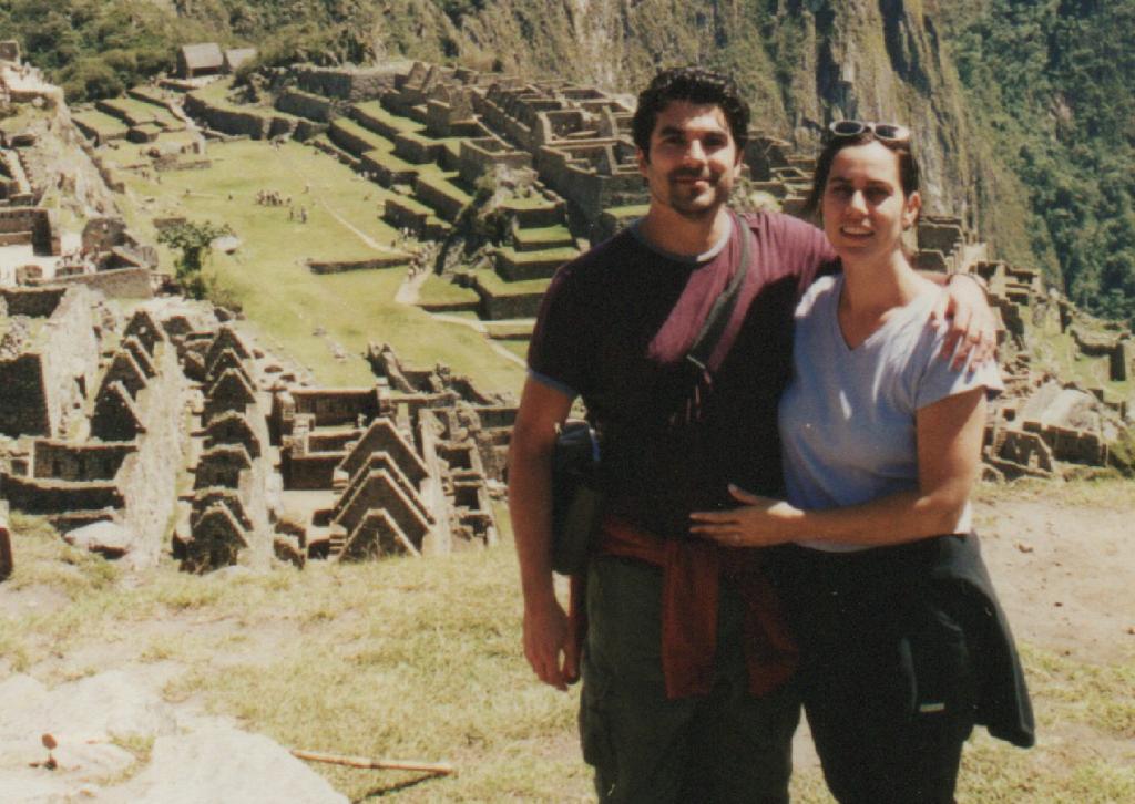 Jose Hernando and Chanel Reynolds traveling