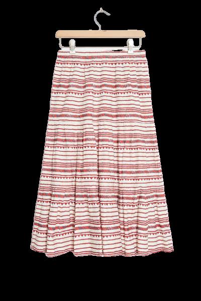 Lupita Tiered Midi Skirt