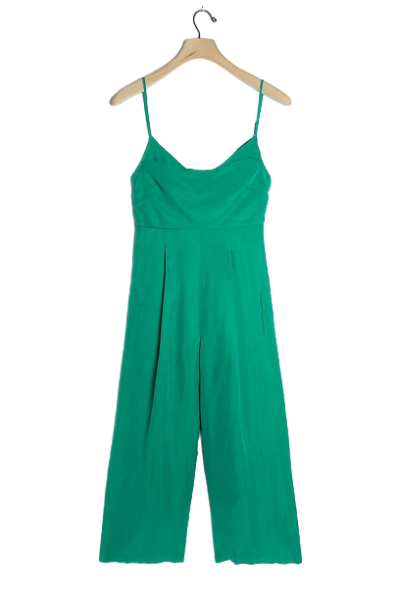 Melody Pleated Bow-Back Jumpsuit