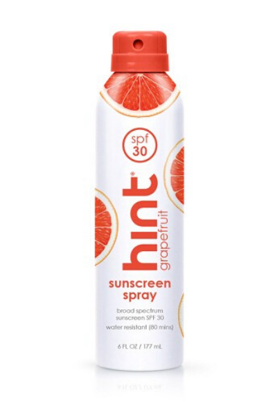 Grapefruit Sunscreen Spray
