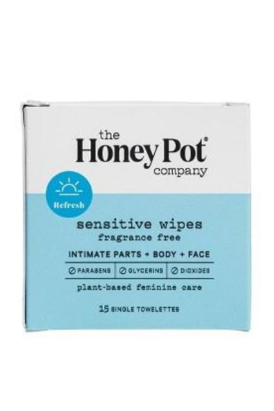 Sensitive Feminine Hygiene Wipe Pack